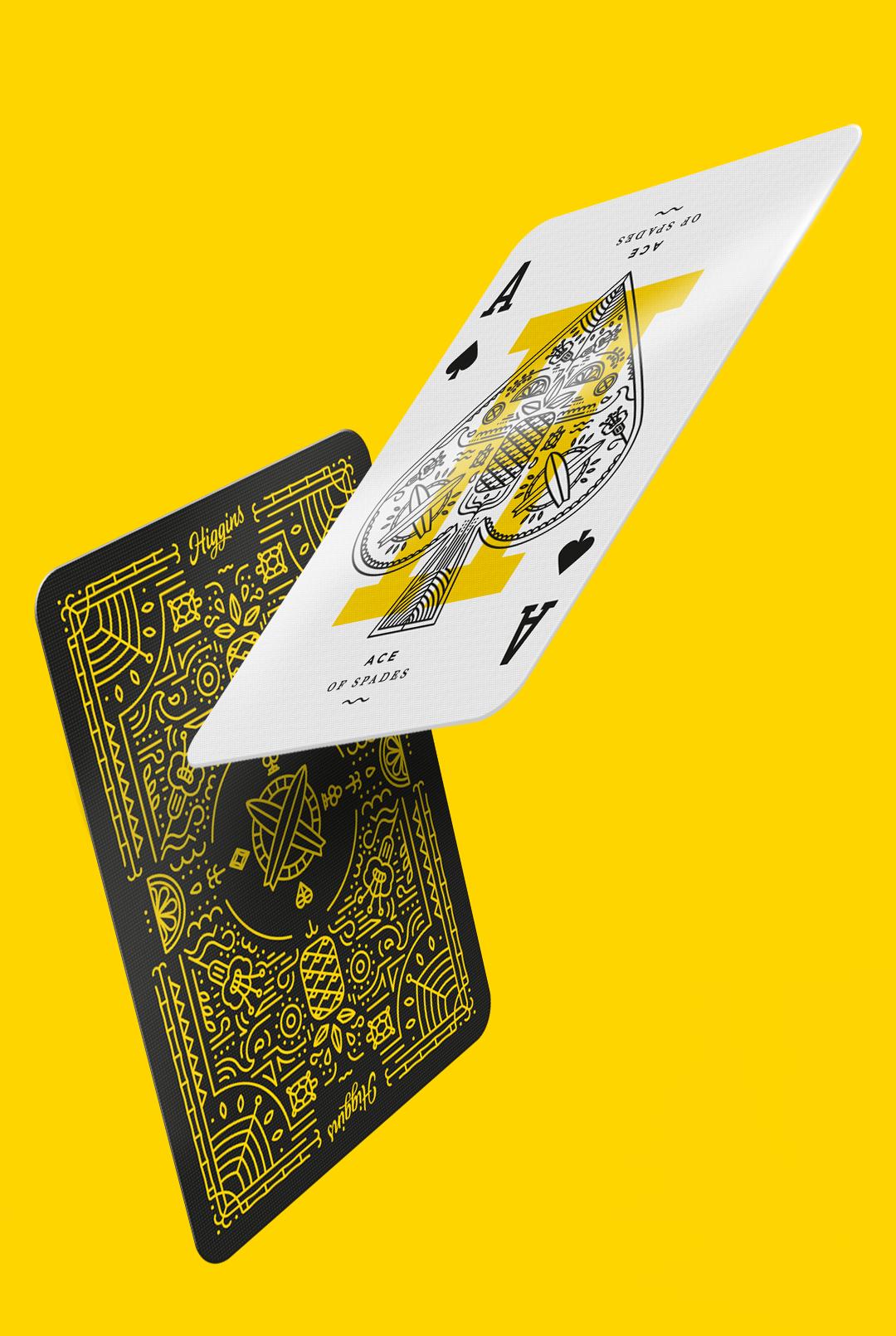 Higgins Cards
